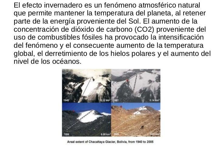 El efecto invernadero es un fenómeno atmosférico natural que permite mantener la temperatura del planeta, al retener parte...