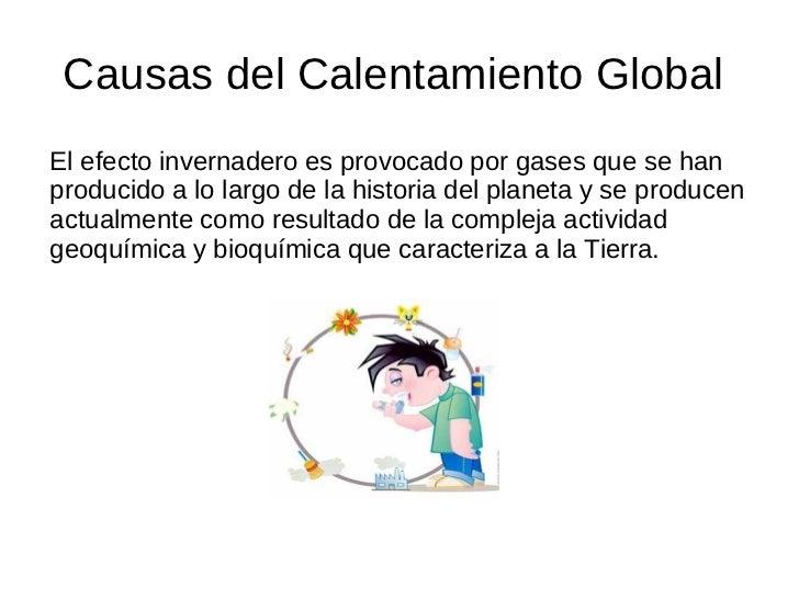Calentamiento Global Slide 2