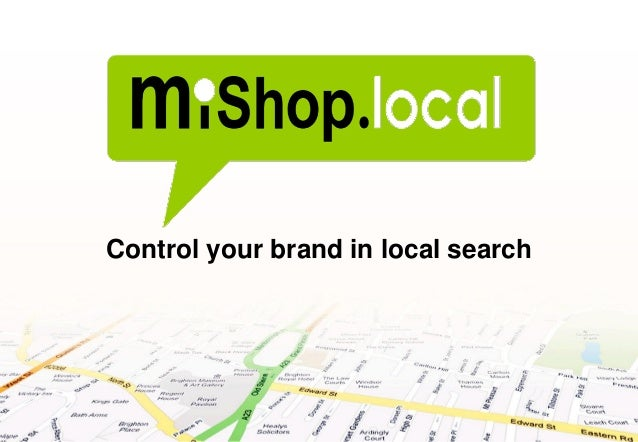 Control your brand in local search