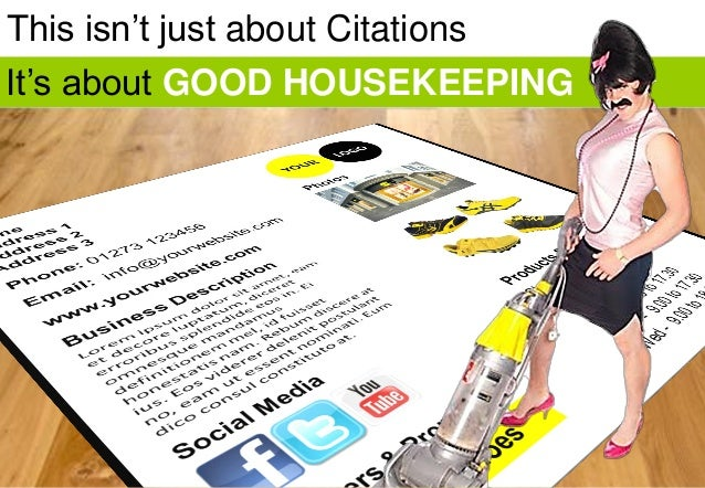 This isn't just about Citations It's about GOOD HOUSEKEEPING