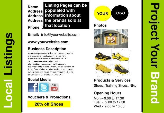 Opening Hours Name Address 1 Address 2 Address 3 Phone: 01273 123456 Email: info@yourwebsite.com Business Description Prod...