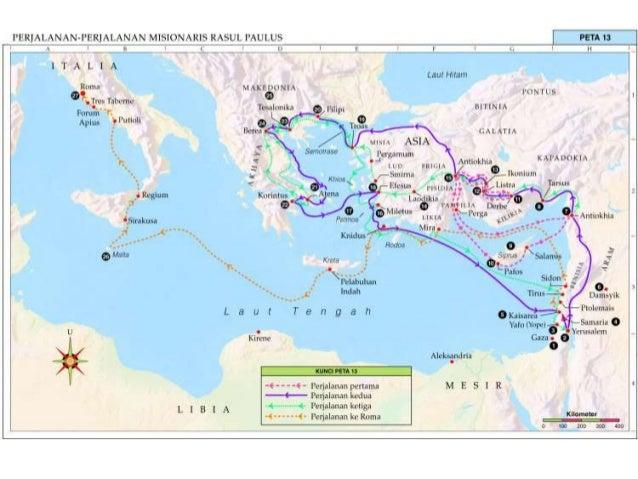Misi dalam surat surat paulus for Cuarto viaje de san pablo