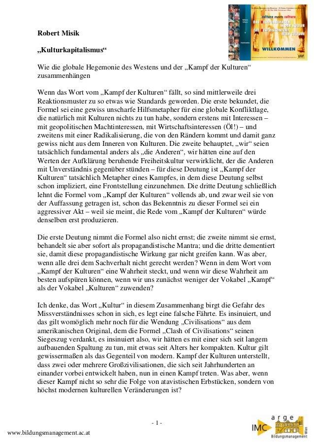 """Robert Misik """"Kulturkapitalismus"""" Wie die globale Hegemonie des Westens und der """"Kampf der Kulturen"""" zusammenhängen Wenn d..."""