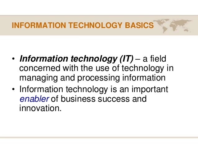 the impact of information technologies on Below i have listed some of the impacts of information technology in an organization flow of information: information is a key resource for all organizations what information describes might be internal, external, objective or subjective external information describes the environment surrounding the organization.