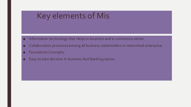 banking sector and role of mis Measuring occupational stress among management information systems workers and users in the financial services sector:  banking, mis users, work culture, role.