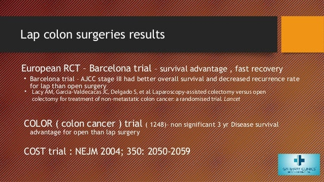 Minimal Invasive Surgery In Management Of Colorectal Cancer