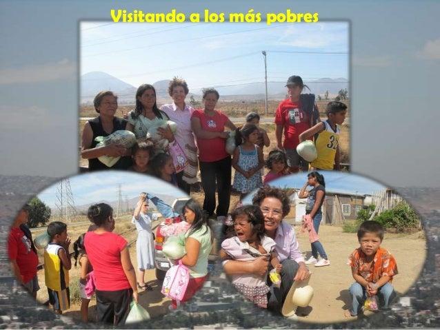 Visitando a los más pobres