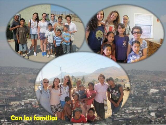 Con las familias