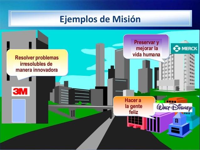 Ejemplos de Misión                                       Preservar y                                        mejorar la    ...