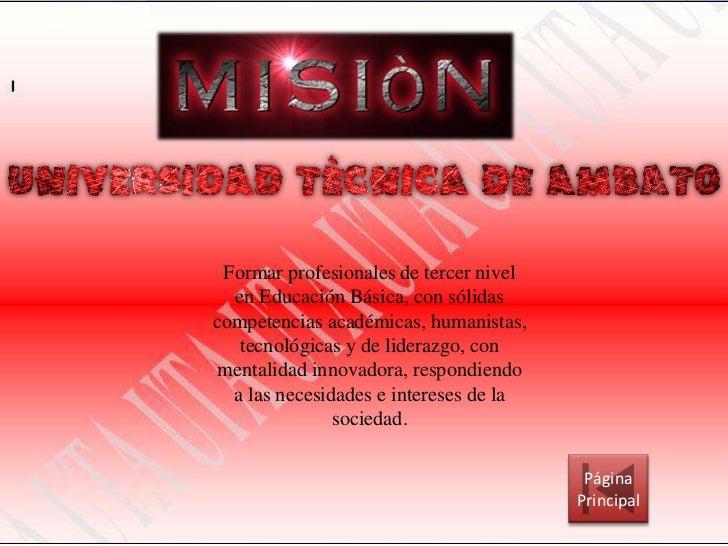 Misión y visión Slide 2