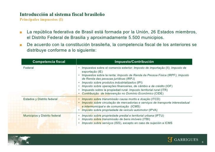 Implicaciones Fiscales De La Inversi N En Brasil