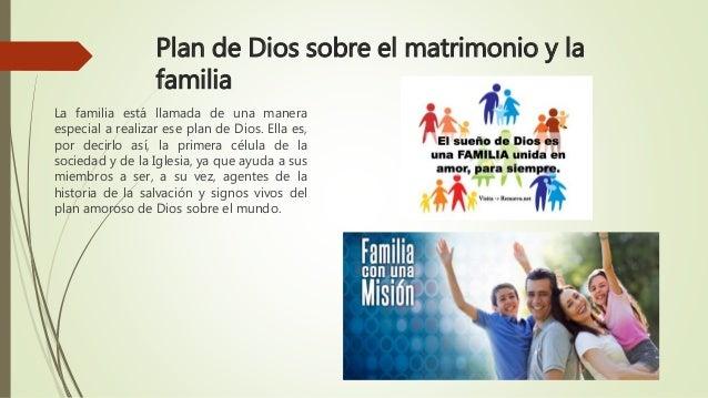 Matrimonio Y Familia En El Proyecto De Dios : Mision de la familia cristiana