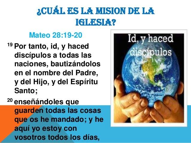 Mision De La Iglesia 23 04 2014