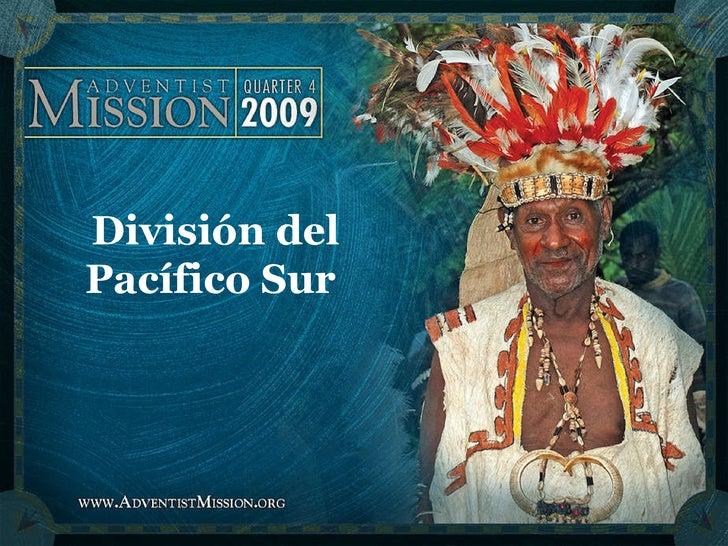 División del Pacífico Sur
