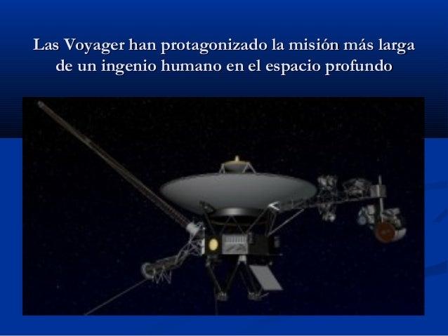 Misiones Voyager - El viaje infinito Slide 2