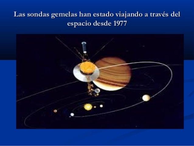 Misiones Voyager - El viaje infinito Slide 3