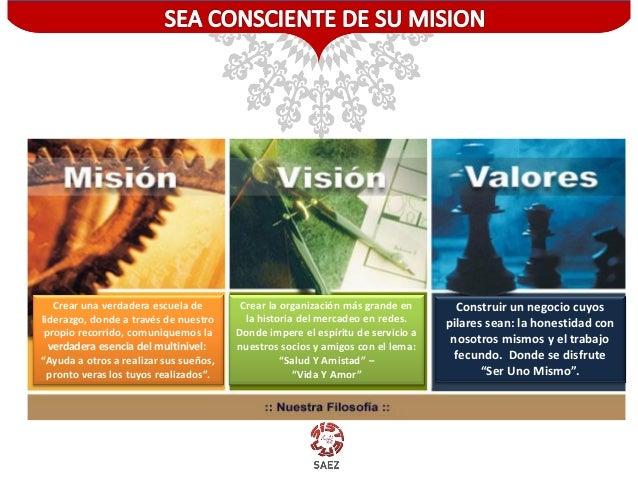 Crear una verdadera escuela de liderazgo, donde a través de nuestro propio recorrido, comuniquemos la verdadera esencia de...