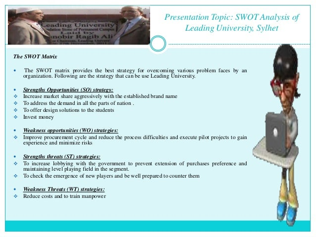 swot analysis of sunway university 05102014 mktg 6078 integrated marketing communications (sec 060) fall 2014 swot analysis - macewan university group.