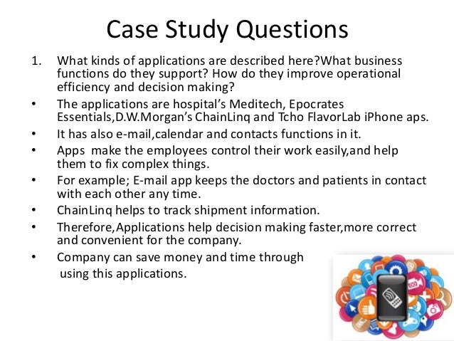 Case Study Solutions and Case Analysis