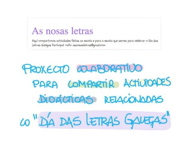 As Nosas Letras Slide 2