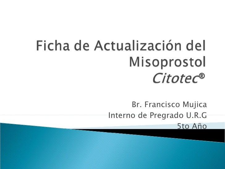 Misoprostol Cytotec