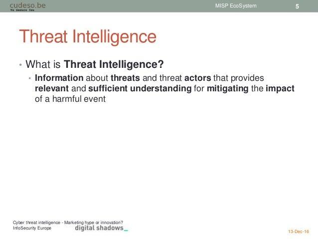 MISP EcoSystem - Threat Intelligence, VMRay, MISP