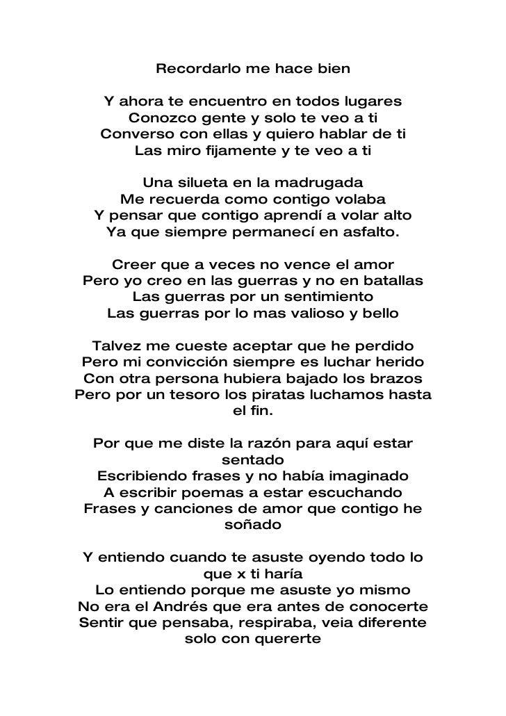 Te Conozco Bien Lyrics