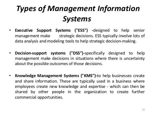 management information system ppt