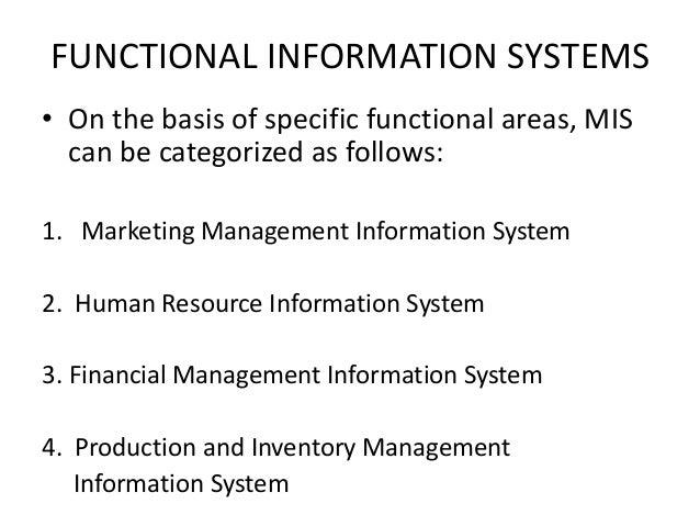 Management information system ppt.