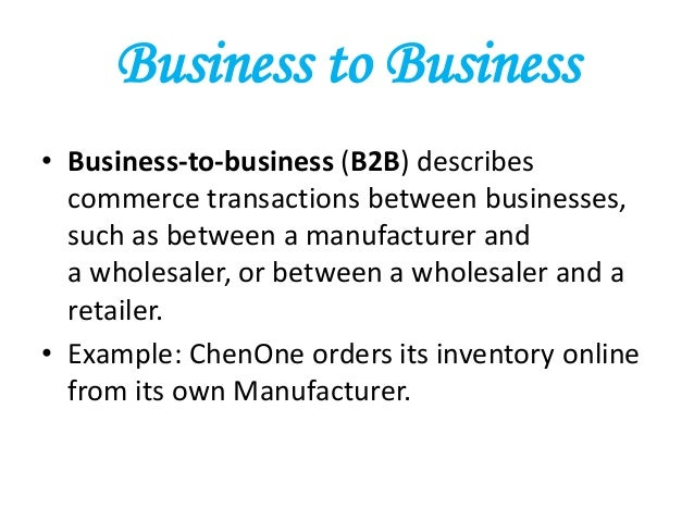 the future of electronic commerce for companies and small businesses Business-to-business electronic commerce accounts for the vast majority of total e-commerce sales and plays a leading role in global supply but this has led to a substantial decrease in the number of small companies operating in certain the economic impact of e-commerce.