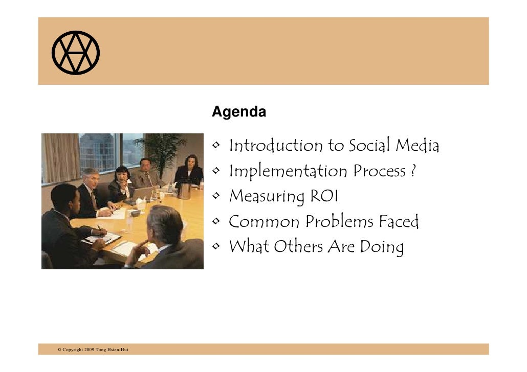 Implementing a Social Media Strategy Slide 2