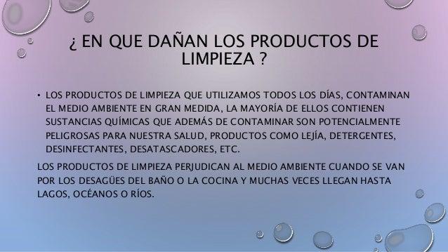 Productos de limpieza y tocador for Productos de limpieza