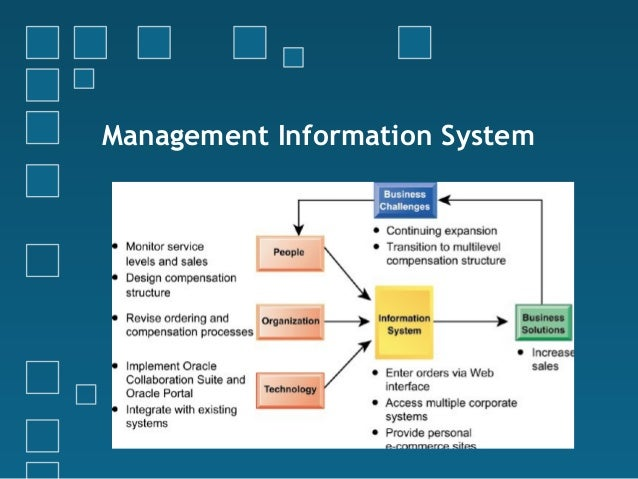 integrated information management system A management information system (mis) is a computerized database of financial information organized and programmed in such a way that it produces regular reports on operations for every level of.