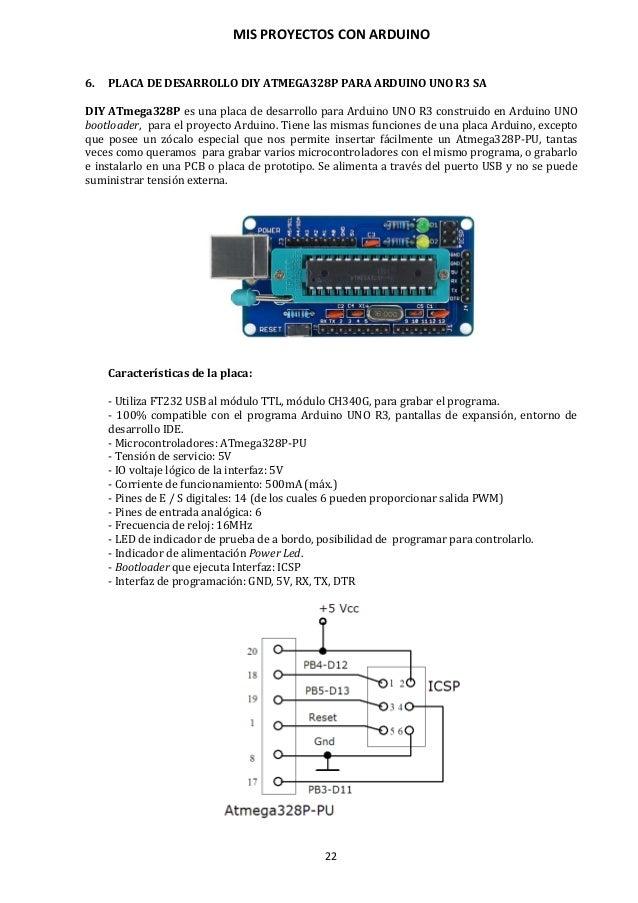 MIS PROYECTOS CON ARDUINO 23 7. COMPONENTES HARDWARE PARA CONECTAR CON ARDUINO En los proyectos electrónicos intervienen u...