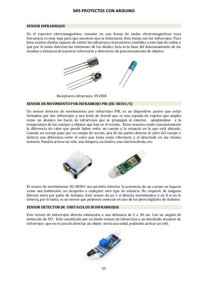 MIS PROYECTOS CON ARDUINO 26 SENSORES DE LUZ LDR Las siglas LDR provienen del inglés Light Dependent Resistor (resistencia...