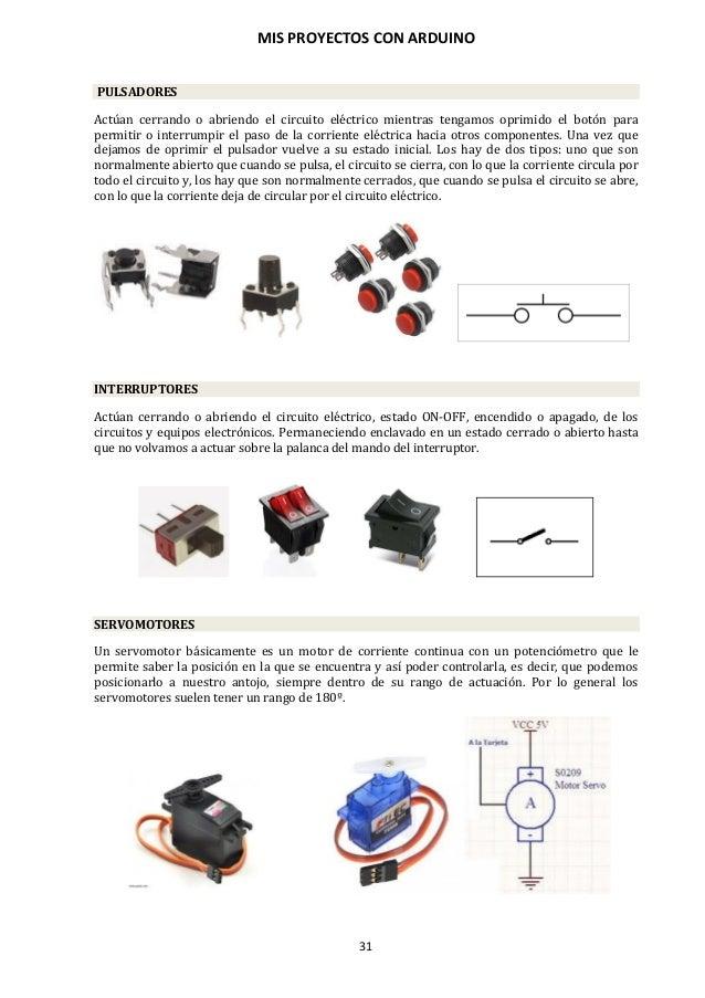 MIS PROYECTOS CON ARDUINO 32 ACTUADORES DE RELES El relé es un dispositivo electromecánico. Funciona como un interruptor-c...