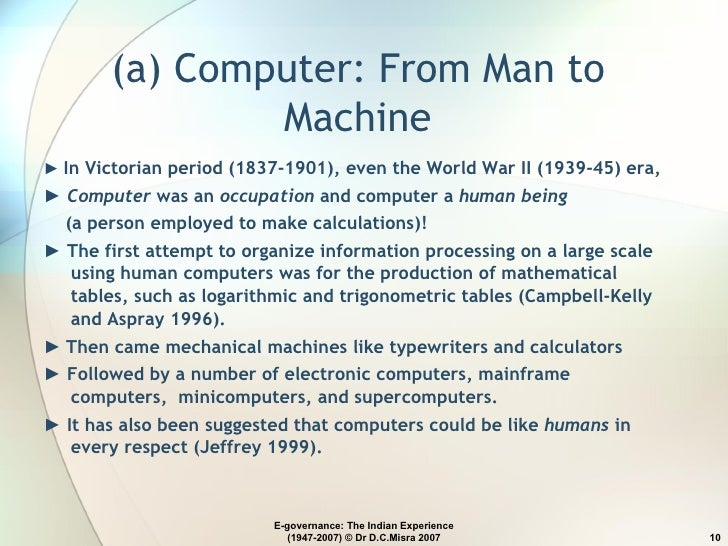 man and machines essay Similar Essays