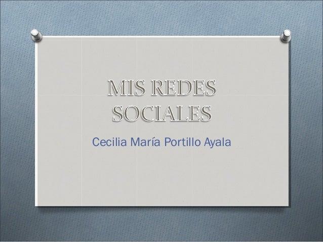 Cecilia María Portillo Ayala