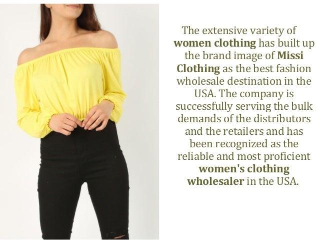 Missi Clothing Wholesale Fashion