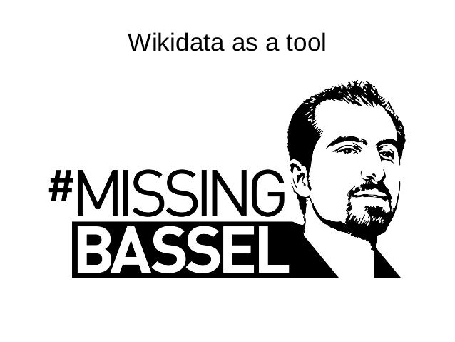 Wikidata as a tool