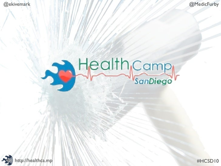 @ekivemark               @MedicFurby         http://healthca.mp     #HCSD10