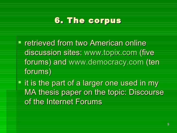 Missing or wrong punctuation and other mistakes in internet forum dis…