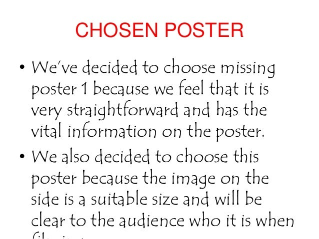 Poster Template » Missing Child Poster Template - Poster Template ...