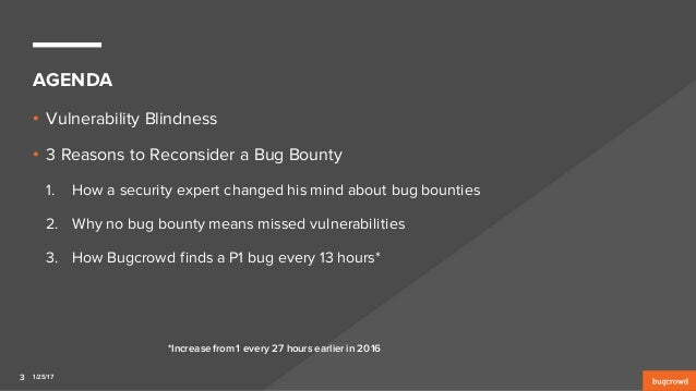 Are You Vulnerability Blind? 3 Reasons to Reconsider a Bug Bounty Slide 3
