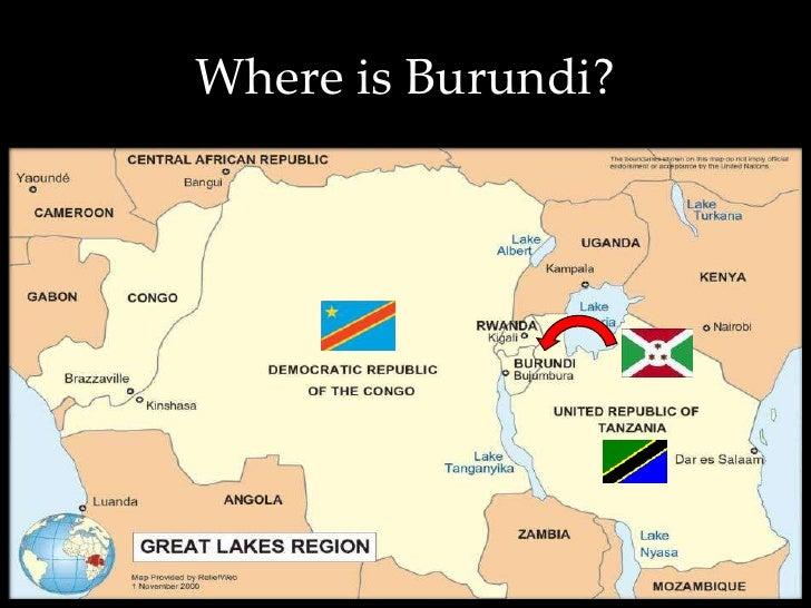 Outreaches To Burundi Invitation - Where is burundi
