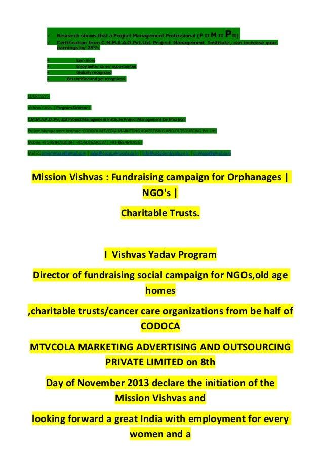 Mission vishvas-resume template-6 Slide 2