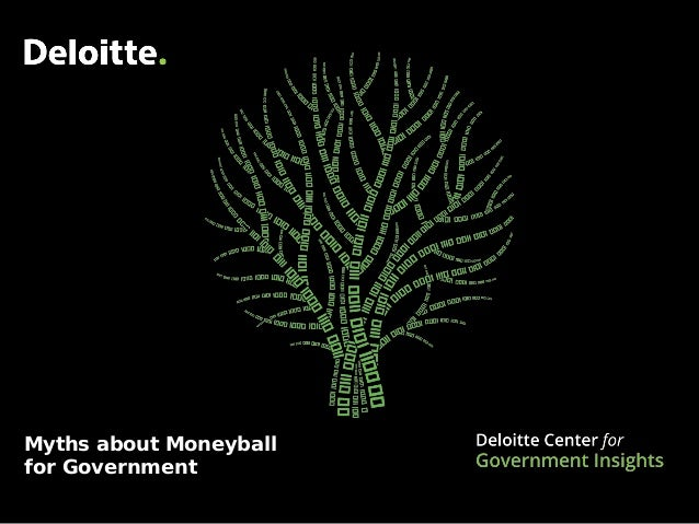 Myths about Moneyball for Government