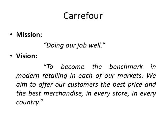 Carrefour's CSR mission