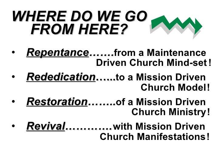 Mission Driven Church
