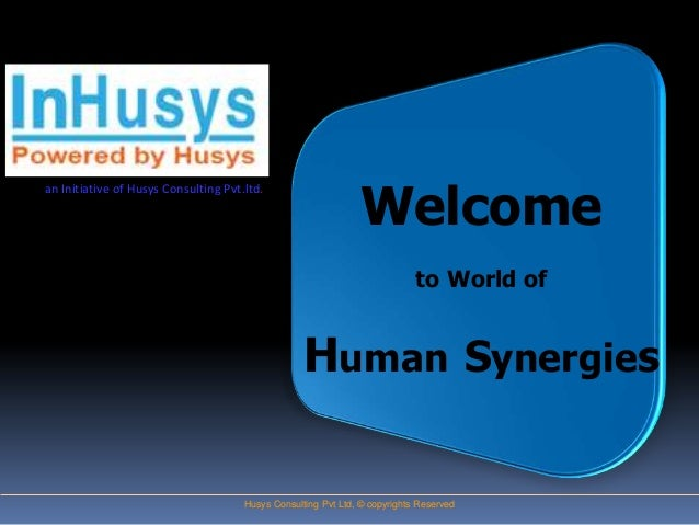 Welcomean Initiative of Husys Consulting Pvt.ltd.                                                                         ...